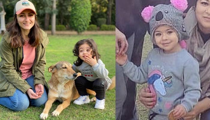 Soha Ali Khan Shares A Cute Picture Of Her Little Angel, Inaaya Naumi Kemmu Decked In Winter Outfit