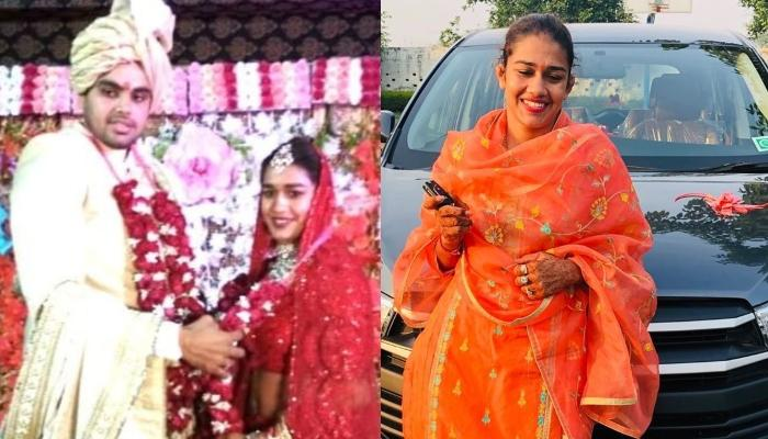 Babita Phogat's Husband, Vivek Suhag Gifts Her A Brand New Car To Start Their Newly Married Journey