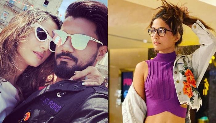 Hina Khan Goes On A Movie Date With Beau, Rocky Jaiswal, Looks Gorgeous In A Chic Ensemble