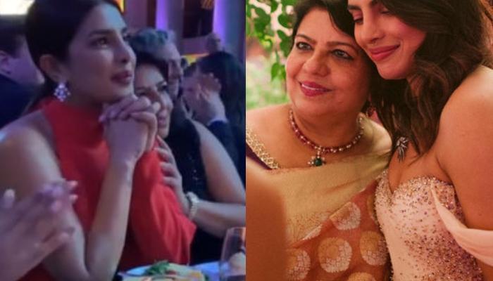 Priyanka Chopra Jonas Writes A Special Note For Mother, Madhu Chopra As She Receives An Award