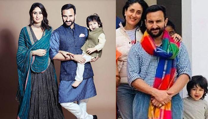 Taimur Ali Khan Pose For A Complete Family Picture At Pataudi Palace Ahead Of His Third Birthday