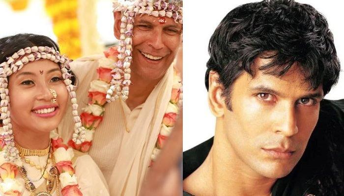 Milind Soman's Throwback Picture From 2000s Makes Wife, Ankita Konwar Ask Him To Get Married Again