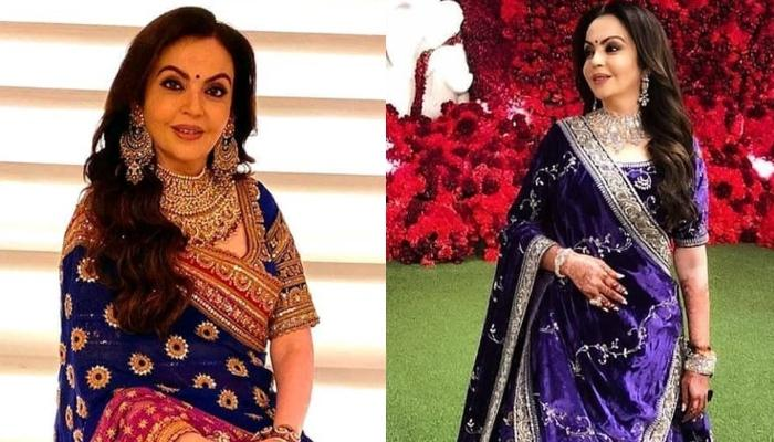 Nita Ambani Looks Breathtaking In An Ivory Lehenga, Proves That She Is A 'Forever Beauty'