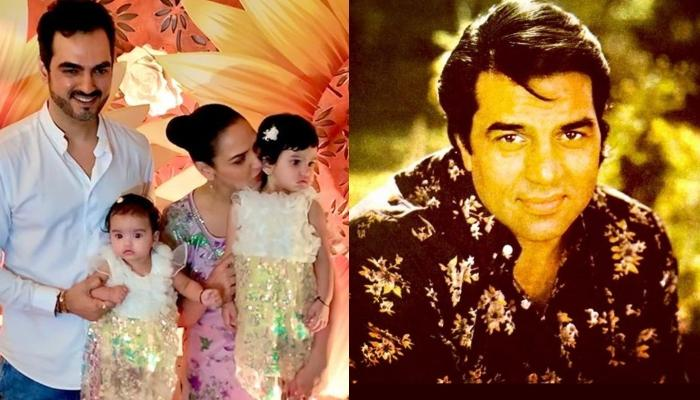 Esha Deol's Daughters, Radhya And Miraya's Birthday Wish For 'Naanu' Dharmendra Is Too Sweet To Miss