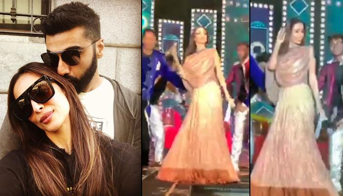 Malaika Arora Grooves To Arjun Kapoor's Song At A Wedding In Surat, Looks Scintillating In A Lehenga