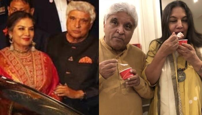 Shabana Azmi And Javed Akhtar Complete 35 Years Of Marital Bliss, The Actress Shares A Cute Picture