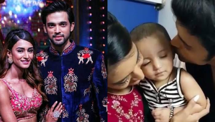 Parth Samthaan Pours Kisses To Niece, Rivah, Erica Jennifer Fernandes Too Joins In To Play With Her
