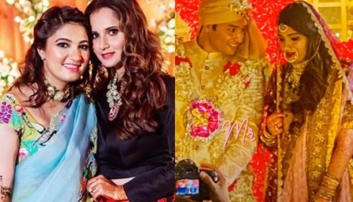 Sania Mirza's Sister, Anam Mirza Turns Into A Gorgeous Bride As She Says 'Qubool Hai'