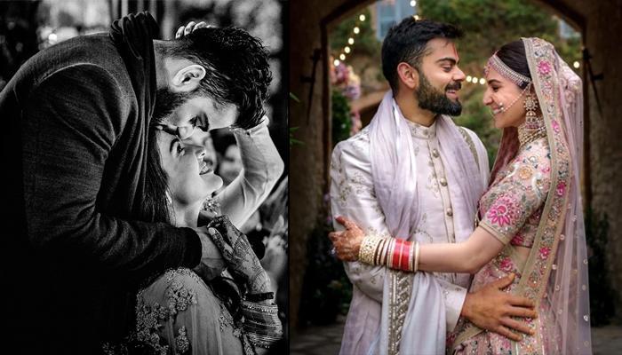 Anushka Sharma's Second Anniversary Wish For Hubby, Virat Kohli Is All About 'Tujhme Rab Dikhta Hai'