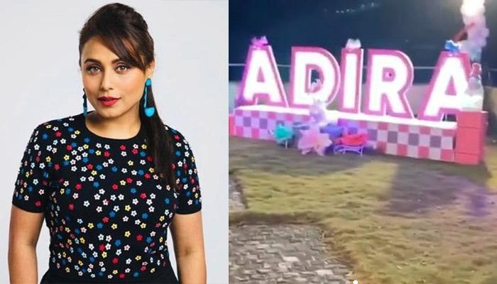 Rani Mukerji Hosted A Unicorn-Themed Birthday Party For Her Daughter, Adira Chopra [Pics Inside]