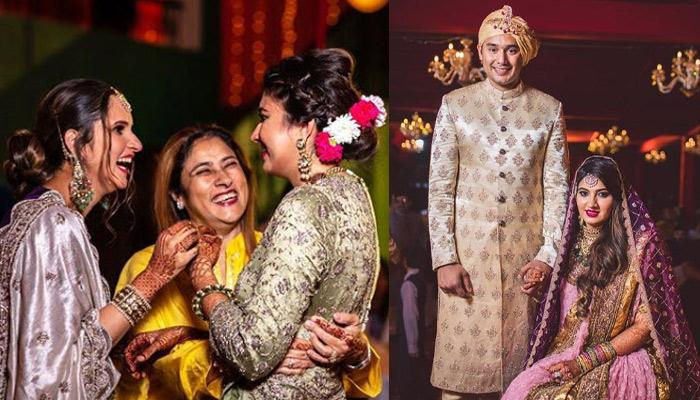 Sania Mirza's Baby Sister, Anam Mirza Makes For A Happy Bride As She Dances Her Way On Her Vidaai
