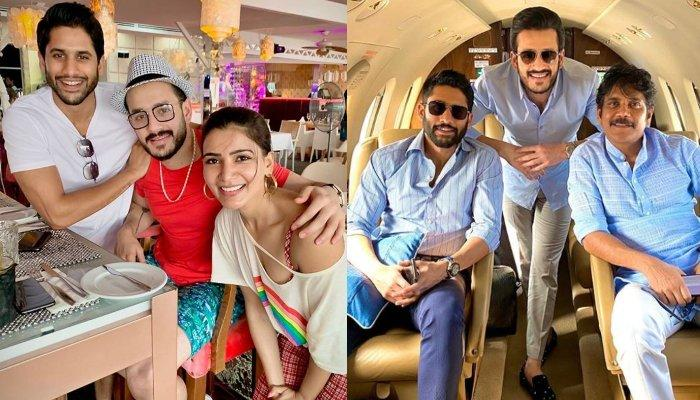Akhil Akkineni Posts A Beautiful Family Picture Of The Akkinenis' As They Welcome A New Member