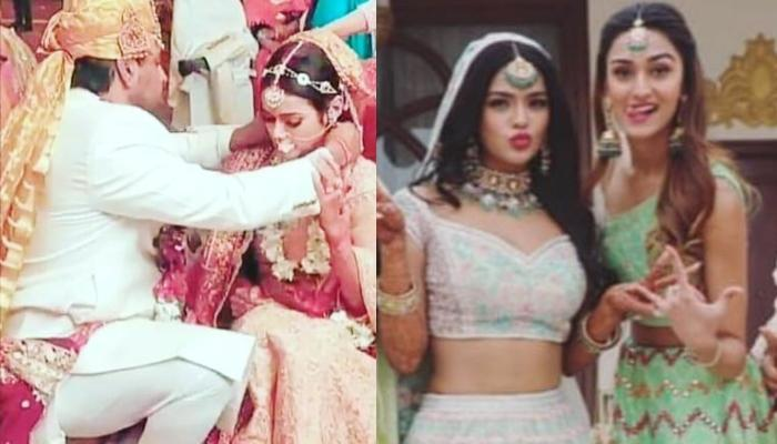 Sonyaa Ayodhya Of 'Kasautii Zindagii Kay' Gets Married, Erica Fernandes Turns Into A Bridesmaid