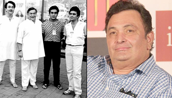 Rishi Kapoor's Birthday Wish For His Dad Raj Kapoor With A Throwback Pic Will Hit You With Nostalgia
