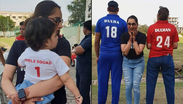 Anam Mirza And Mohammad Asaduddin Compete For A 'Dulha VS Dulhan' Cricket Match Post Their Wedding