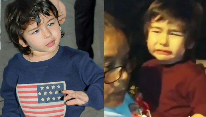 Taimur Ali Khan Going All Teary While Leaving A Christmas Party Will Make You Miss Your Childhood