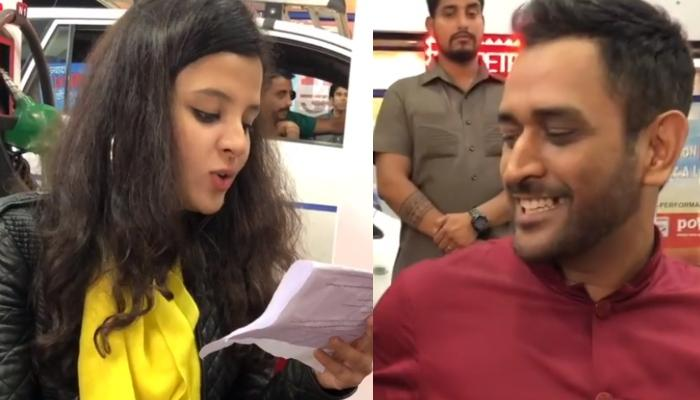 MS Dhoni Shares A Throwback Video Of Wife, Sakshi As He Makes Fun Of Her Dialogue Delivery Skills