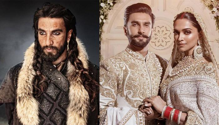 Ranveer Singh's Marriage With Deepika Padukone Had Initially Made Him Turn Down Khilji's Role