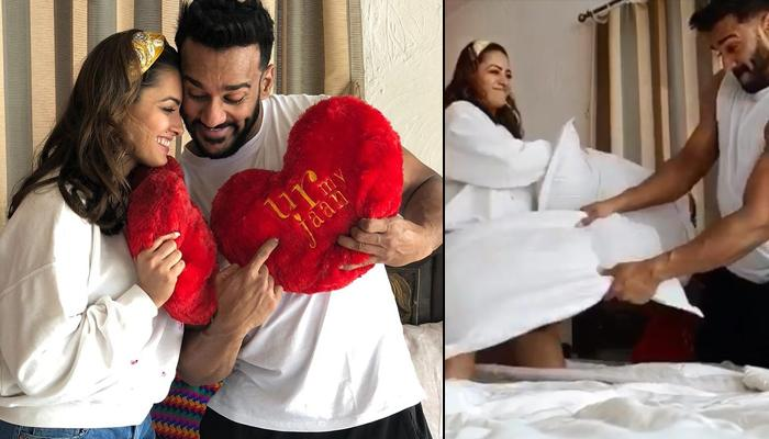 Anita Hassanandani Indulging In Pillow Fight With 'Jaan', Rohit Reddy Will Make You LOVE These Guys!