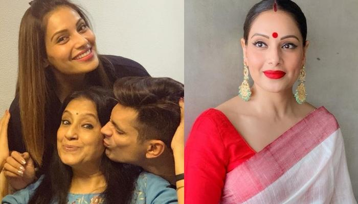 Bipasha Basu Twins With Mommy In A Whimsical Saree As They Channel Their Bong Beauty
