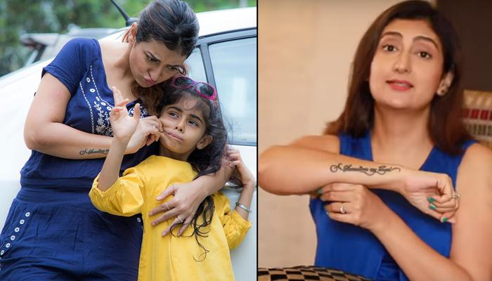 Juhi Parmar Reveals Story Behind Her Tattoo, 'Samairra The Angel' And How Her Daughter Reciprocated