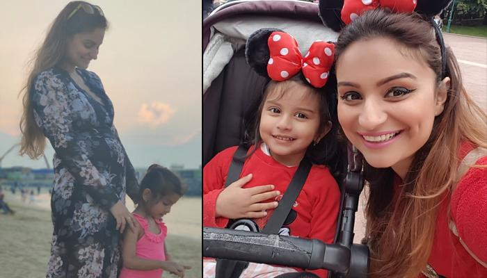 Dimpy Ganguly's Pregnancy Glow Is Evident As She Visits Mosque With Daughter To Seek God's Blessings