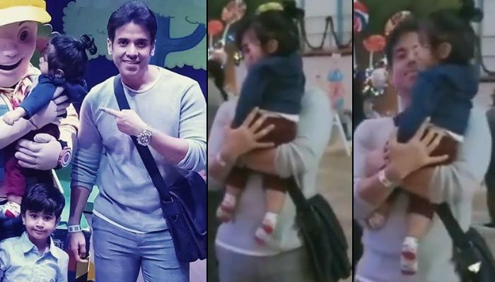 Ekta Kapoor's Son, Ravie Kapoor's 'Baby's Day Out' With Mamu, Tusshar Kapoor Is A Delight To Watch