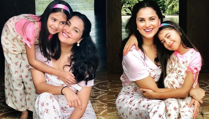 Lara Dutta's Daughter, Saira Prepares For Christmas Celebration As She Sets Up A Little Creche