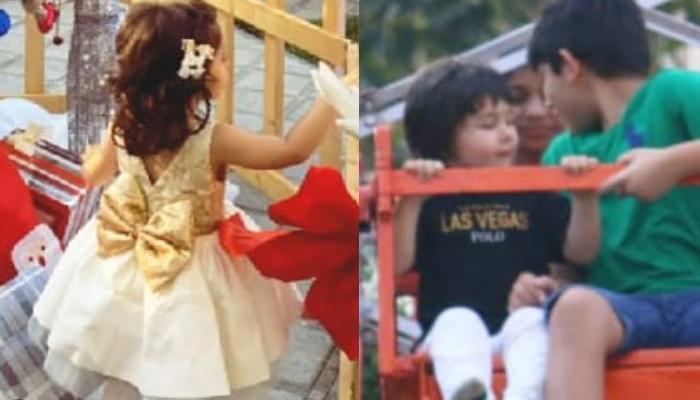 Taimur Ali Khan Enjoys A Ride On 'Merry-Go-Round', Inaaya Shares An Adorable Wish For Her 'Bhaiya'