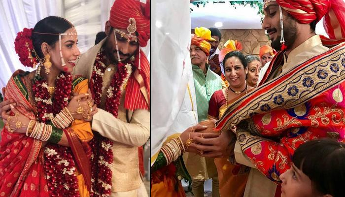 Prateik Babbar And Sanya Sagar Are Married, Here Are The First Pictures Of The Bride And Groom