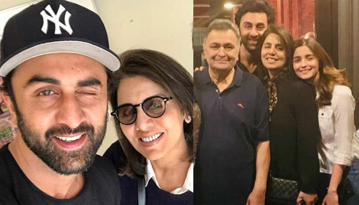 Neetu Kapoor Spotted At Her Soon-To-Be-Bahu, Alia Bhatt's House With Her Son, Ranbir Kapoor