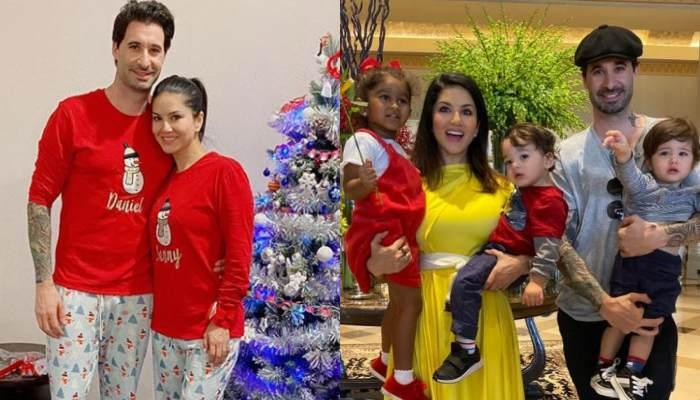 Sunny Leone Shares Pictures From 'The Weber's' Christmas Celebrations, Sends In Wishes For Her Fans