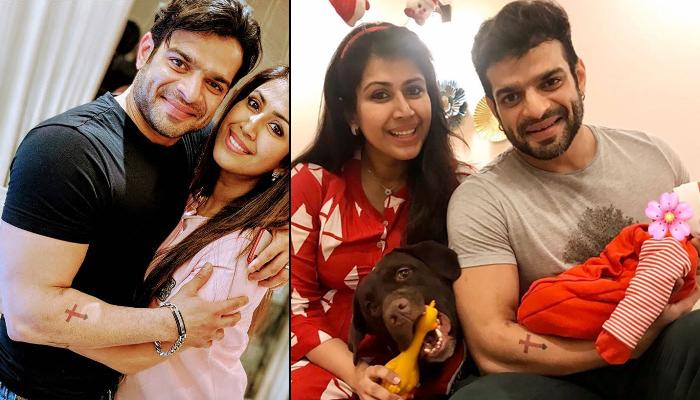 Karan Patel And Ankita Bhargava Finally Share The First Pictures Of Their 10 Days Old Daughter, Mehr