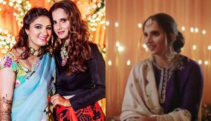 Sania Mirza Talks About Her Baby Sister, Anam Mirza's 'Falling In Love' Phase In The Wedding Video