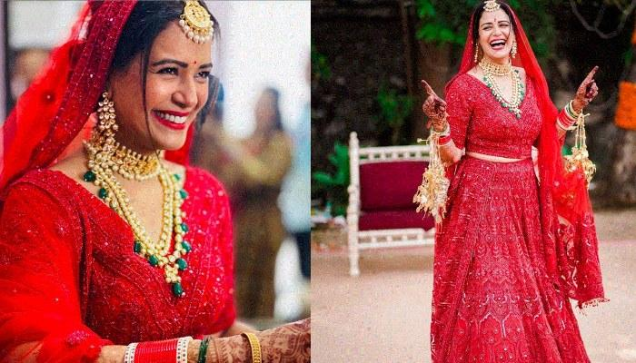 Mona Singh Shares An Adorable Picture From Her Wedding, Calls It Her 'Happily Ever After'