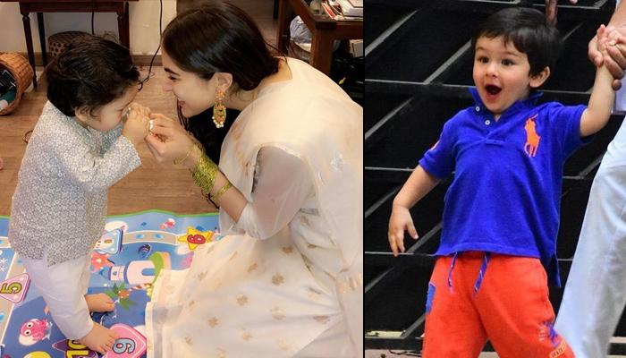 Sara Ali Khan On Taimur Ali Khan's Popularity, Says He Walks Out Of The House And It Makes The News