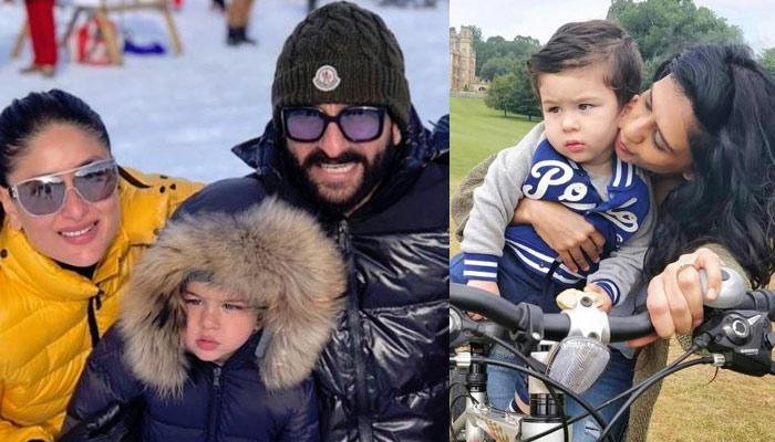 Taimur Ali Khan Looks Confused And Lost In The Latest Snaps From Switzerland, Pics Inside