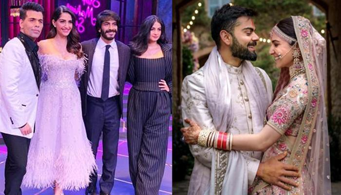 Sonam Kapoor Makes A Surprising Comment About Anushka Sharma's Wedding Pictures At Koffee With Karan
