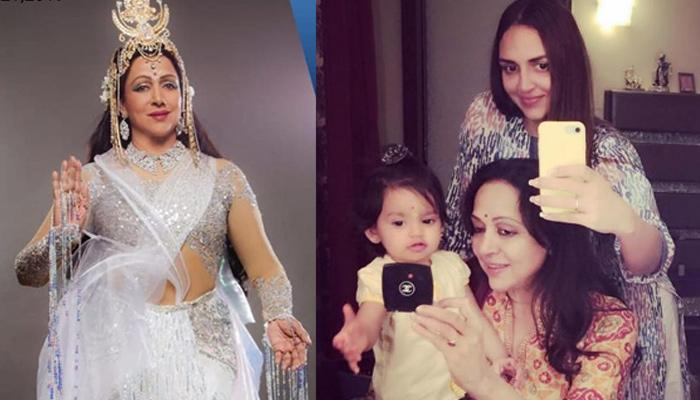 Esha Deol's Daughter, Radhya Ran To Her 'Naani', Hema Malini During A Shoot And Then This Happened