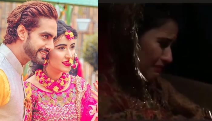 Sheena Bajaj Breaks Down Into Tears During Her Vidaai, Husband Rohit Purohit Teases Her