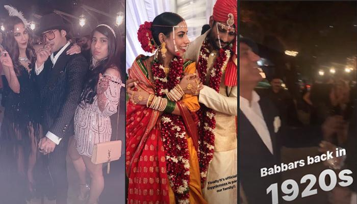 Prateik Babbar And Sanya Sagar's Post-Wedding Retro Party Will Take You Back In Time, Pics Inside