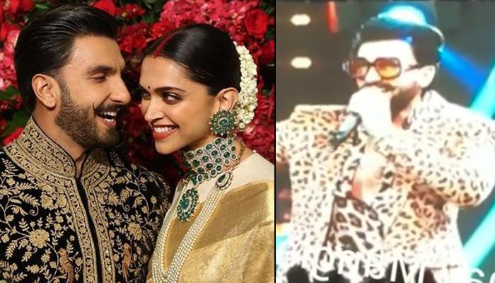 Ranveer Singh Reveals How His 'Cheerleader' Wife Deepika Padukone Welcomes Him At Home, Video Inside