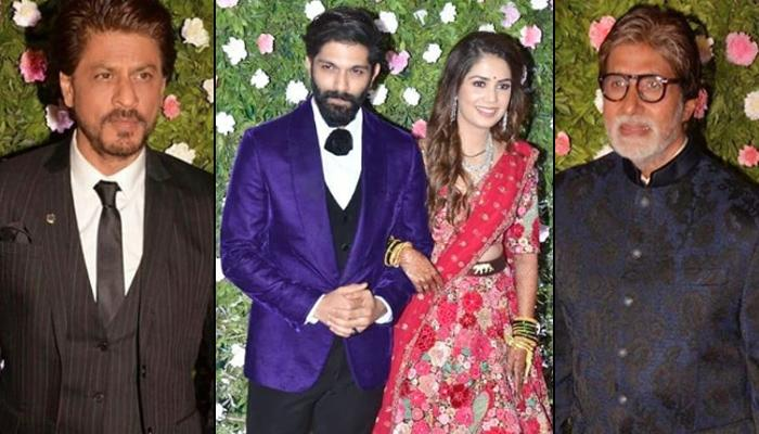 Raj Thackeray's Son Amit Thackeray And Mitali Borude's Star-Studded Wedding Reception, Pics Inside