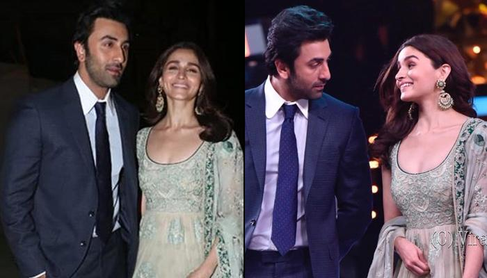 Ranbir Kapoor Can't Take Eyes Off 'Muse' Alia Bhatt At Umang 2019, Lovebirds Happily Pose For Camera