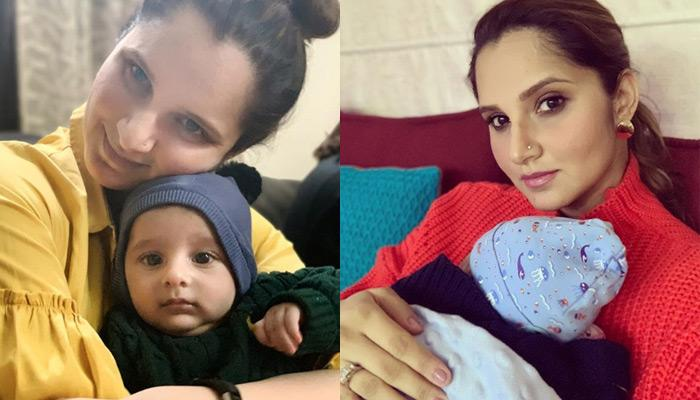 Sania Mirza Posts An Adorable Picture With Son Izhaan Mirza Malik, B-Town Friends Can't Keep Calm