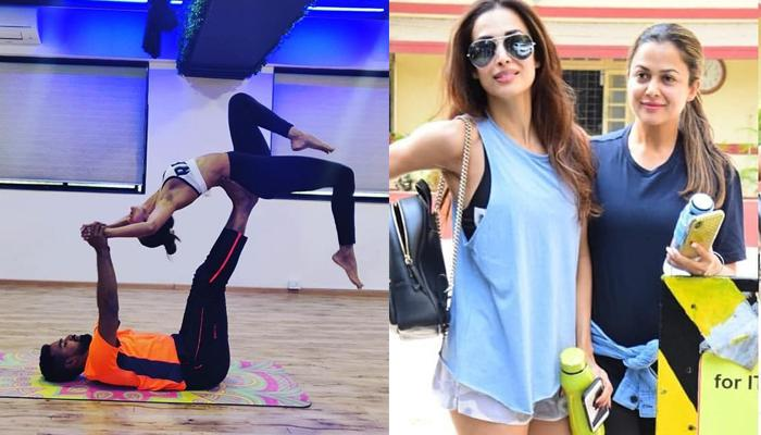 Amrita Arora's Comment On Malaika Arora's Workout Post Is Every Younger Sibling Ever