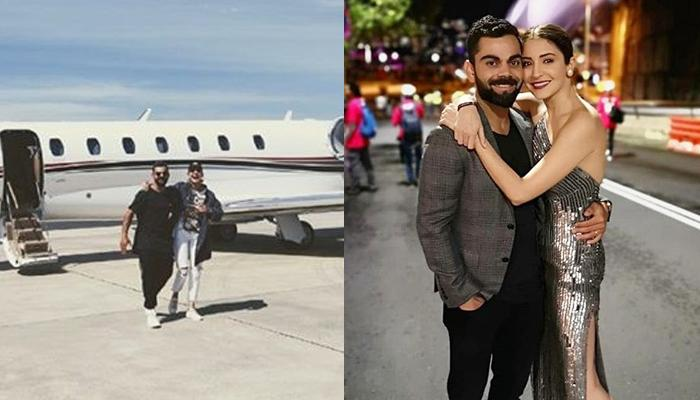 Virat Kohli And Anushka Sharma Fly Off For A Vacation In Private Jet, Post ODI Series Win Against NZ