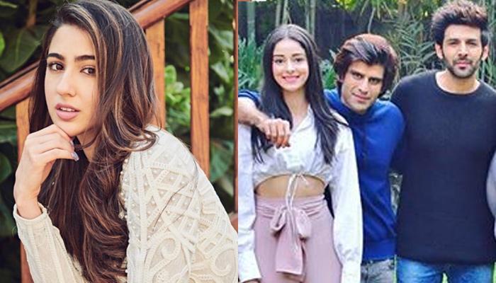Sara Ali Khan Has An Unmissable Reaction On Crush, Kartik Aaryan And Ananya Panday's Dating Rumours