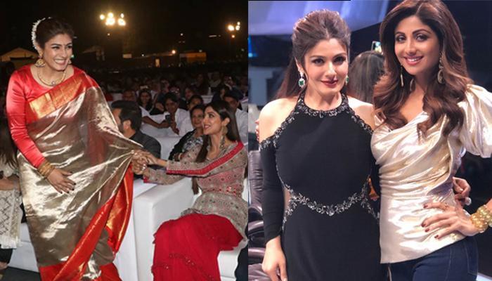 Akshay Kumar's Ex-GFs, Shilpa Shetty Kundra And Raveena Tandon Bond Like Besties At Umang 2019