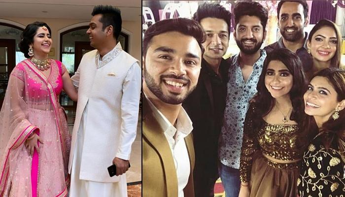 Palak Jain-Tapasvi Mehta's Pre-Wedding Festivities Begin With Chunri Ritual And A Star-Studded Party